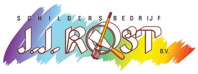 Schilderbedrijf JJ. Rost logo